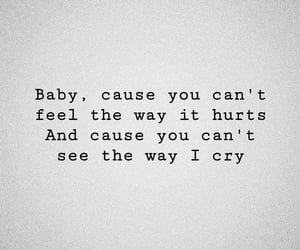 baby, cry, and phrases image