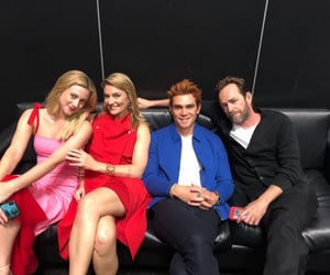 Madchen Amick, lili reinhart, and luke perry image