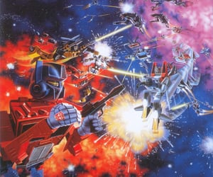 80s, transformers, and transformers 1984 image