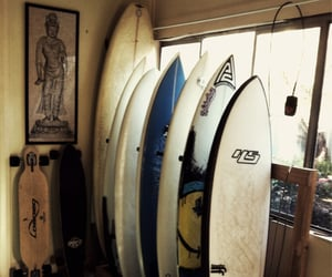 surfing, surf, and beach image