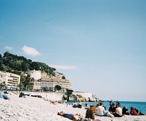 beach, Film Photography, and france image