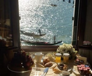 breakfast with a great view