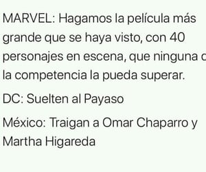 Avengers, DC, and frases image