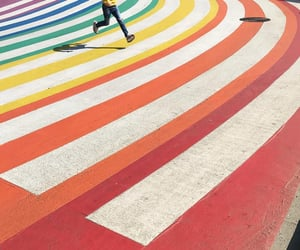 colors, lanes, and running image
