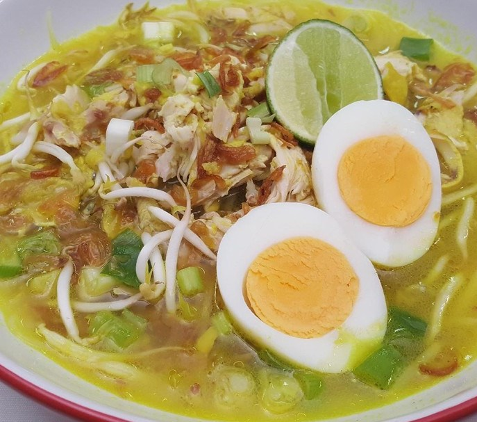 article, indonesian food, and resep soto ayam image
