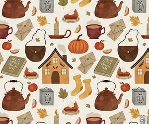art, autumn, and autumnal image