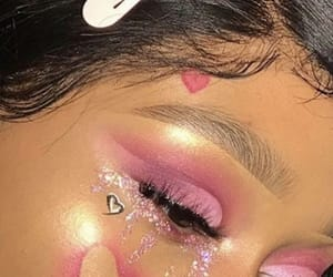 pink, beauty, and girl image