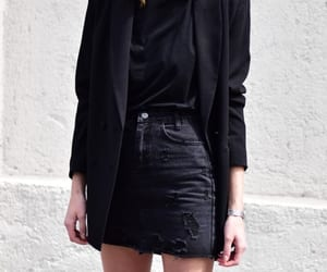 asos, black, and blazer image