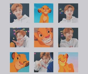 mood board, simba, and the lion king image
