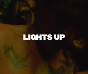 Harry Styles, hs2, and lights up image