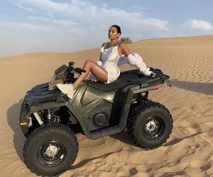 adventure, desert, and Dubai image