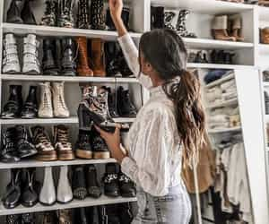 boots, dressing, and fashion image
