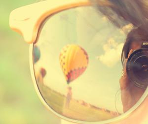 camera, photography, and sunglasses image