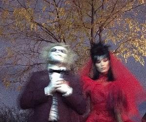 Halloween, bella hadid, and the weeknd image