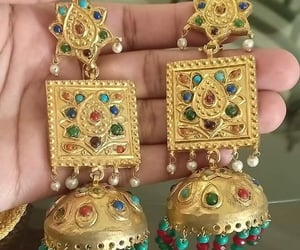 amazing, earrings, and lovely image