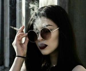 smoke, grunge, and black image