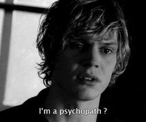 gif, americanhorrorstory, and evanpeters image
