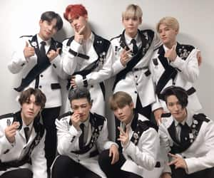 ateez, san, and wooyoung image
