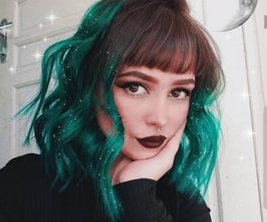 aesthetic, bangs, and beauty image