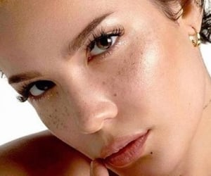beauty, halsey, and freckles image