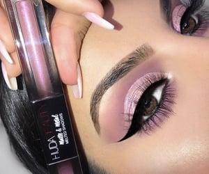 beautiful, eyelashes, and eyeshadow image
