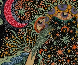 art and psychedelia image