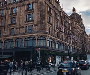 christmas, city, and harrods image