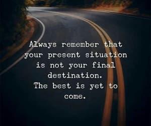 destination, future, and inspiration image