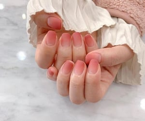 nail art, ombre nails, and nails image