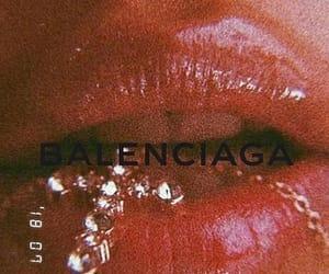 lips, aesthetic, and cross image