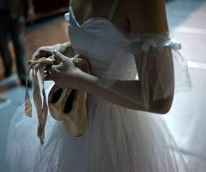 ballet, ballerina, and pointe image