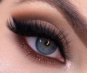 eyeshadow, makeup, and nails image