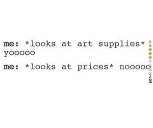 art, broke, and money image