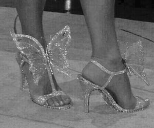 shoes, aesthetic, and butterfly image
