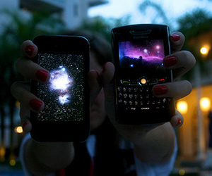 blackberry, phone, and iphone image