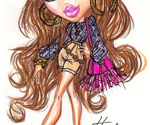 bratz, design, and drawings image