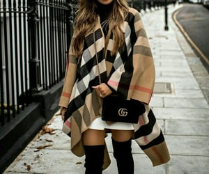 Burberry, gucci, and outfit image