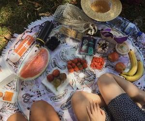 food, FRUiTS, and girl image