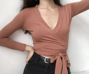 aesthetic, blouse, and outfit image