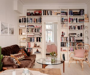 architecture, books, and home image