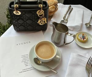 coffee, dior, and dior bag image