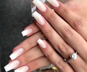 nails, freshnails, and babyboomer image