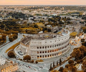 travel, architecture, and colosseum image