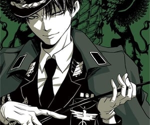 anime, handsome, and levi image