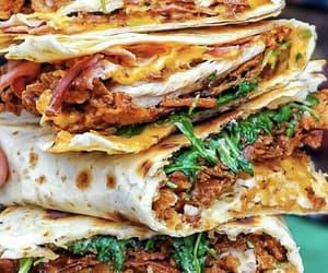 food and quesadilla image