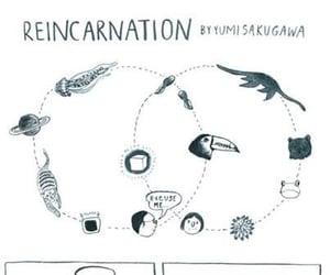 aesthetic, reincarnation, and art image