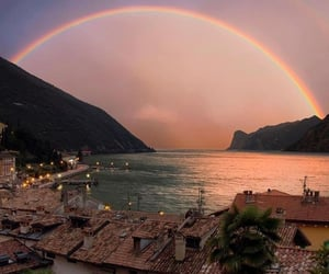 rainbow, travel, and nature image