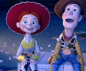 toy story, disney, and jessie image