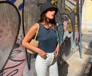 fashion, lisbon, and outfit image