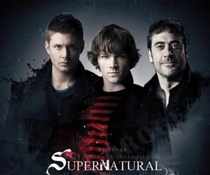 dean winchester, john winchester, and sam winchester image